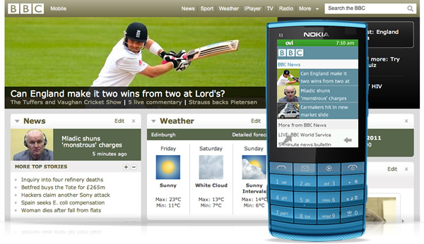 Nokia browser 2.0 for Series 40. Source : Nokia.com